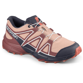 Salomon Speedcross Schuhe Kinder tropical peach/apple butter/living coral